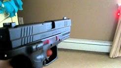 Springfield XD .40 w/ Crimson Trace Laser and Trijicon Night Sights
