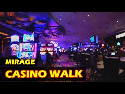 Walking Through The Mirage Hotel & Casino Las Vegas In 4K HD - November 2017