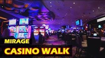 Walking through the Mirage Hotel & Casino Las Vegas in 4K HD - November 2017