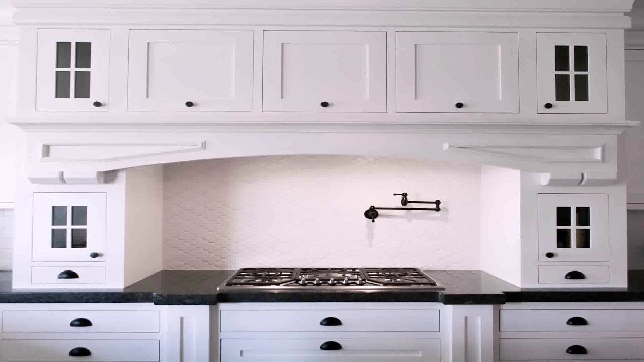 White Kitchen Cabinets With Antique Br Hardware You