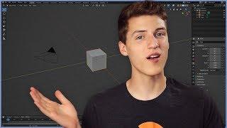 Zapętlaj Blender 2.8 Basics Tutorial pt. 1 I Interface & Navigation for Beginners | CG Cookie