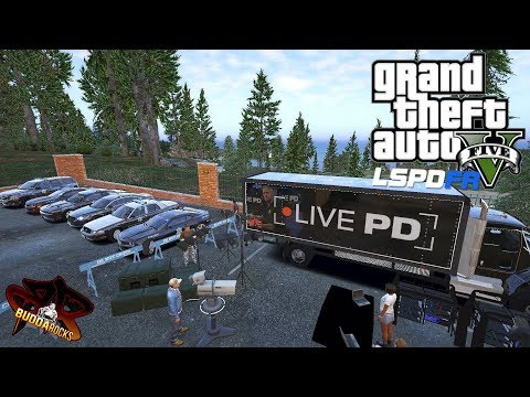 LIVEPD Comes to San Andreas!◆LSPDFR GTA 5◆Delivering New Police Vehicles◆Real Life Police Mods Video