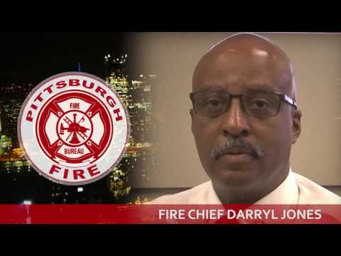 City Channel Pittsburgh Station ID - Fire Chief Darryl Jones