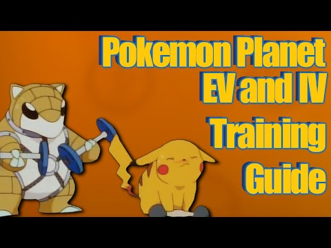 Pokemon Planet - IV and EV Guide! Creating the Perfect Pokemon!