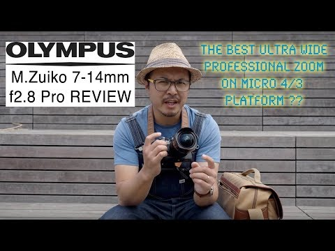 Olympus M.Zuiko 7-14mm F2.8 Pro - RED35 Review