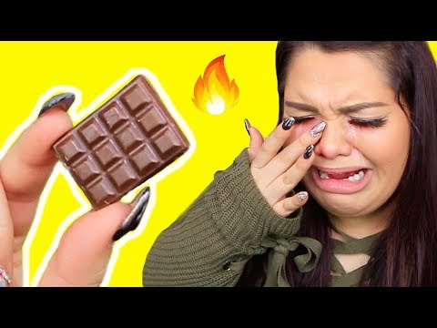 Spiciest Chocolate In The World Challenge! *Gone Wrong* Extreme Spicy Challenge