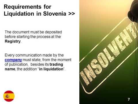 Company Liquidation in Slovenia