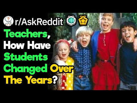 Teachers, How Different Were Students 20 Years Ago?