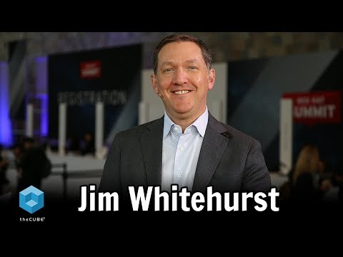 Jim Whitehurst, Red Hat | Red Hat Summit 2018