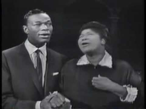 Steal Away-Mahalia Jackson & Nat King Cole From Emeless