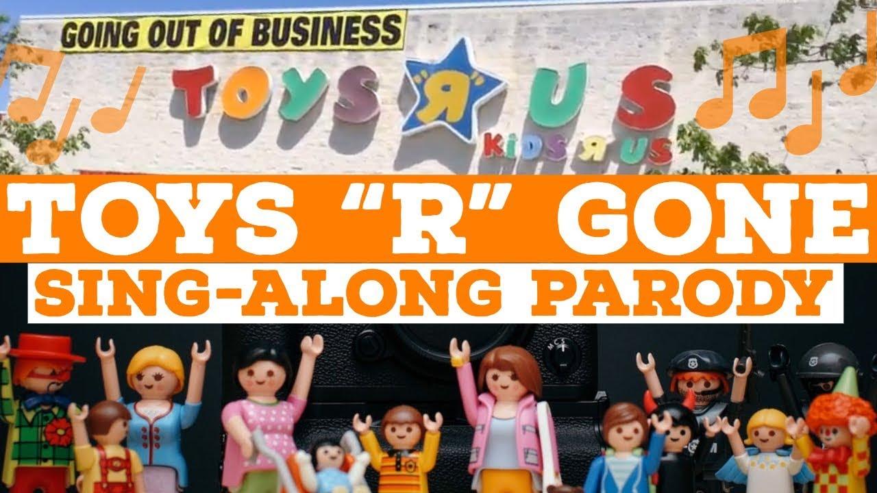 Toys R Gone Sing Along Toys R Us Jingle Parody Theme