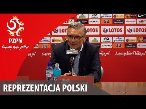 Konferencja po meczu z Rumunią (Warszawa, 10.06.2017)