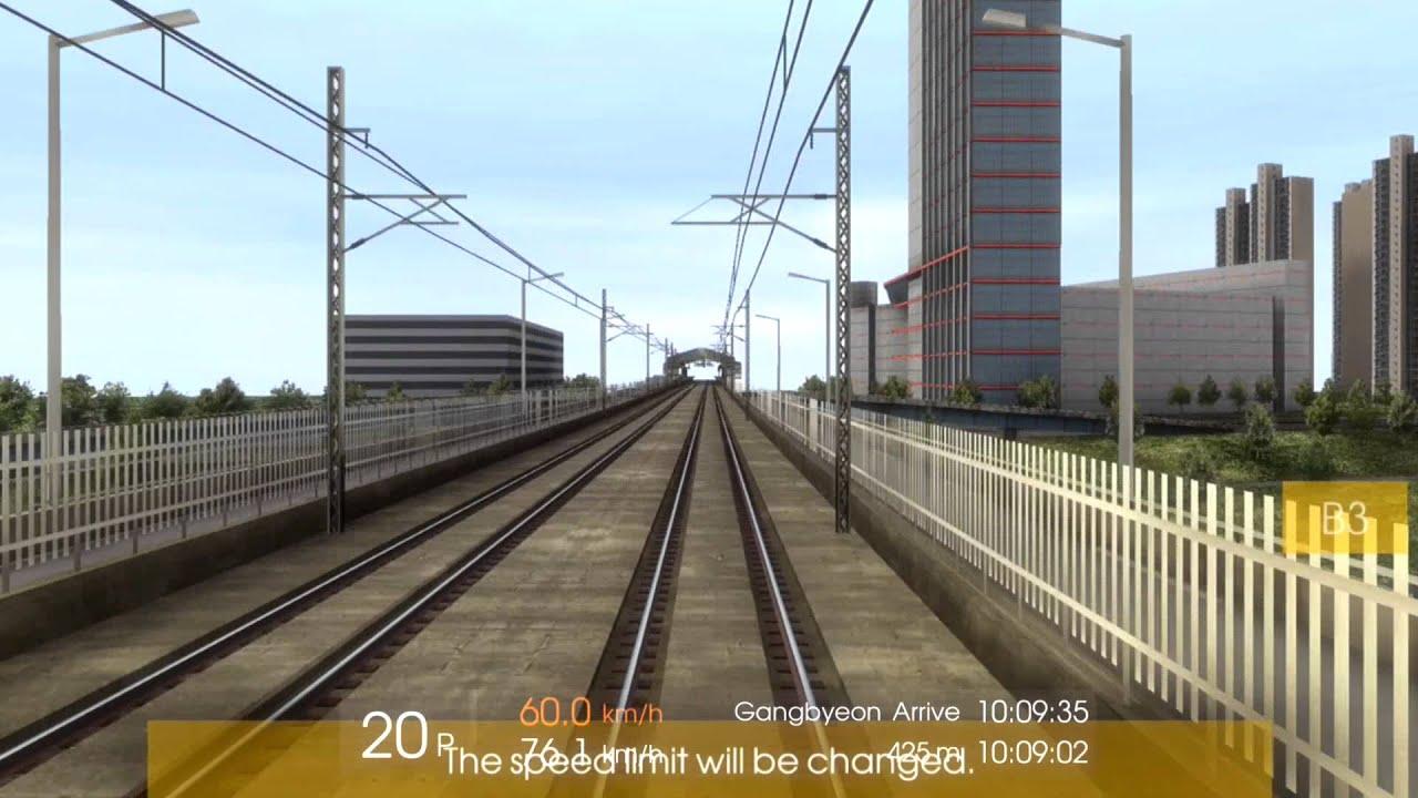 SEOUL SUBWAY TIMELAPSE | Line 2: Samseong to Seongsu (Hmmsim 2)