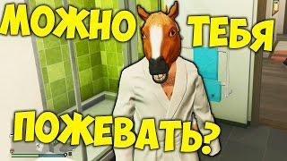 GTA 5 ONLINE - КОНЬ ЛУЧШИЙ ДРУГ ЧЕЛОВЕКА