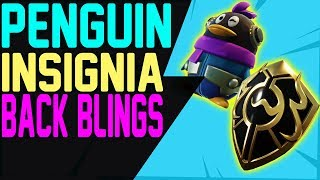 How to Get PENGUIN and INSIGNIA BACK BLINGS - WEGAME CHINESE EXCLUSIVE ITEMS Fortnite Battle Royale