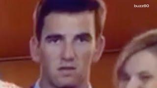 Eli Manning's reaction to Peyton winning Super Bowl goes viral