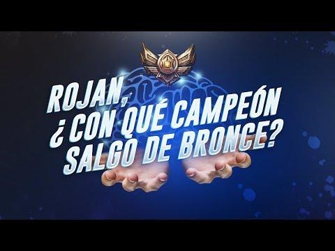 ROJAN... ¿ CON QUE CAMPEÓN SALGO DE BRONCE?
