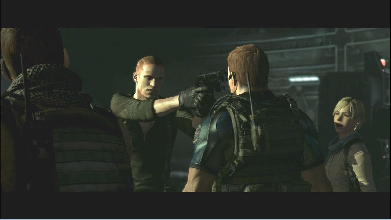 Resident Evil 6 Hd Remaster Chris Redfield Piers Nivans Chapter 5 Ending Ps4 Gameplay Youtube