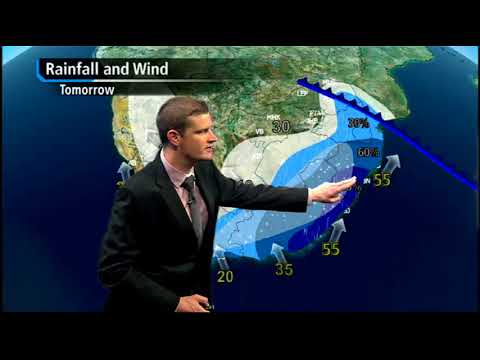 Weather forecast: Cold front expected, 16 August 2017
