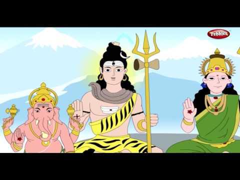 How Ganesha Got Elephant Head | Lord Ganesha Stories in English | Shree Ganesh Stories
