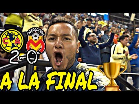 AMÉRICA VS MORELIA 2-0  VOLAMOS JUNTOS A LA FINAL