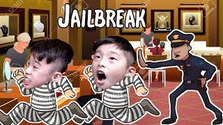 WE WENT TO JAIL IN ROBLOX!! | Roblox
