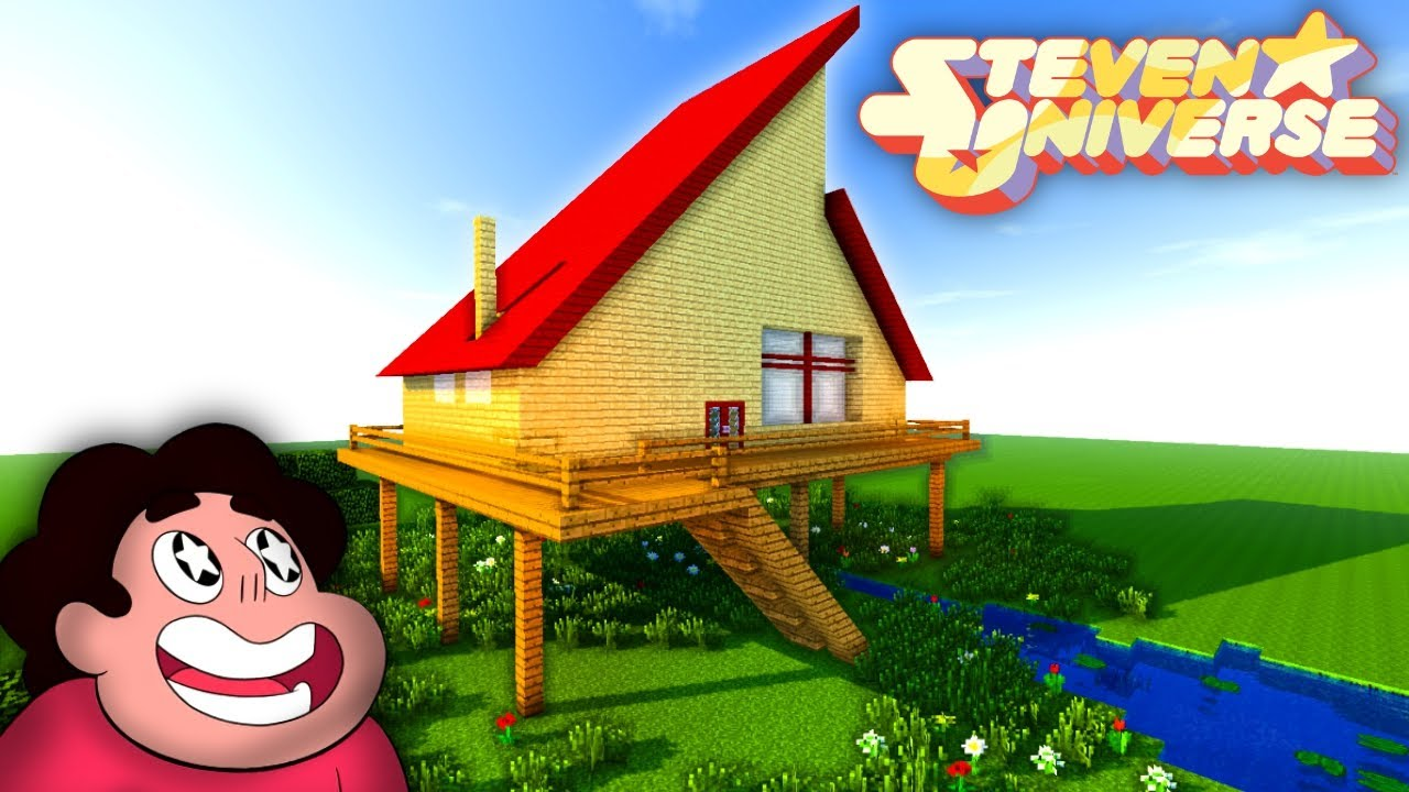 Como hacer la casa de steven universe en minecraft youtube for Como hacer una casa clasica en minecraft