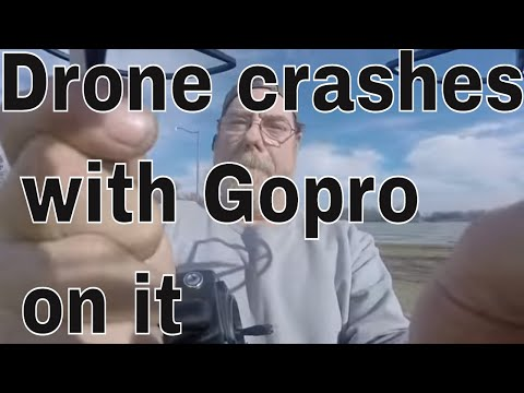 DRONE CRASHES WITH A GOPRO ON IT THEN SOME METAL DETECTING