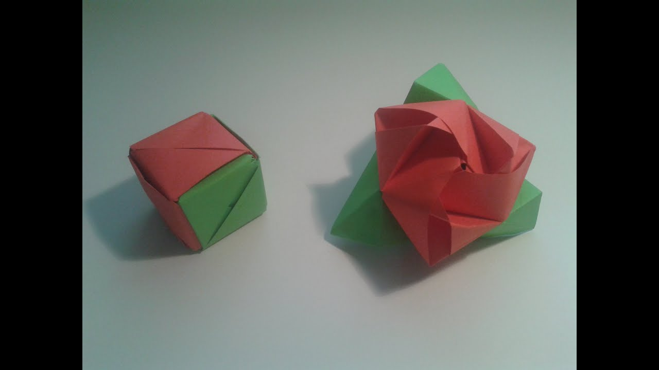 Como hacer una rosa de papel origami imagui - Como secar una rosa ...