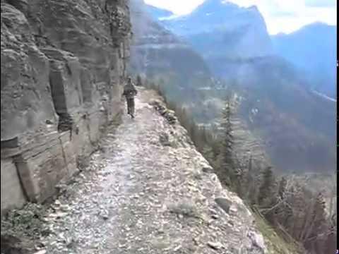 Glacier National Park Highline Trail Youtube