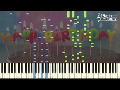Happy Birthday in 7 Styles! - Jonny May Arrangement