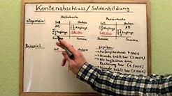 Konten abschließen: Kontenabschluss &  Saldenbildung (Full)
