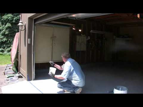 Painting a Garage Floor: Part 22 Finishing the Paint Application