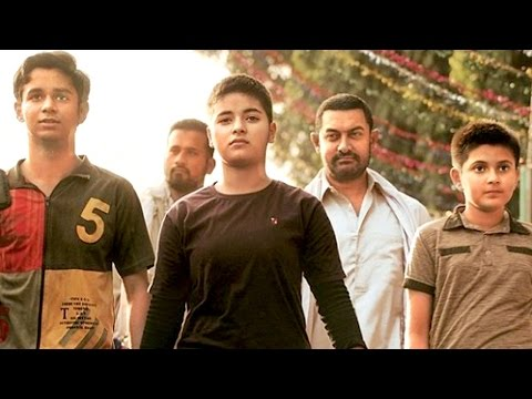 Dangal Movie | Aamir Khan, Zaira, Suhani, Nitesh | Hanikarak Bapu Full Song Launch