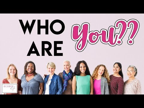 Who YOU Are??  My Thoughts About YOU... The Busbee Style Community!