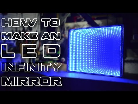 How To Make An L E D Infinity Mirror Youtube