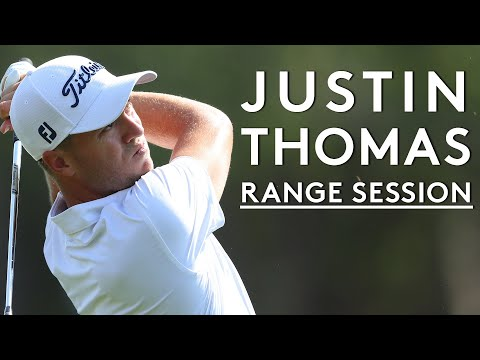 Justin Thomas full range session with TopTracer