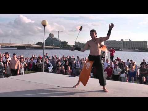 Riga-810. Fire spirit show