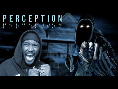 Navigating Through A Haunted House With Restricted Vision || PERCEPTION Horror Game #1
