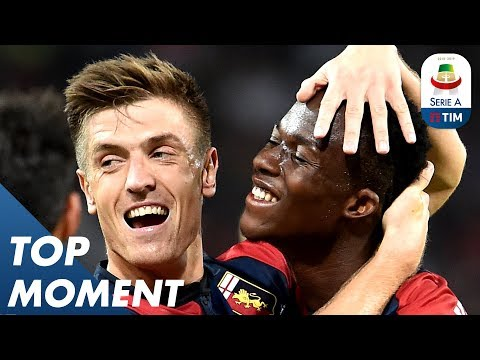 Piątek Gets His 6th Goal in 5 Games!   Genoa 2-0 Chievo   Top Moment   Serie A