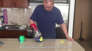 Rehabilitacja ręki po udarze mózgu- orteza SaeboFlex