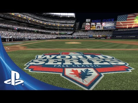 MLB 13: The Show - The Postseason Trailer - 0 - MLB 13: The Show – The Postseason Trailer