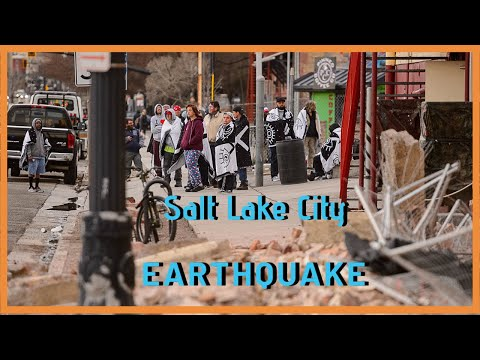 Live Video of SLC Utah Earthquake 5.7!!! Taken from people there.
