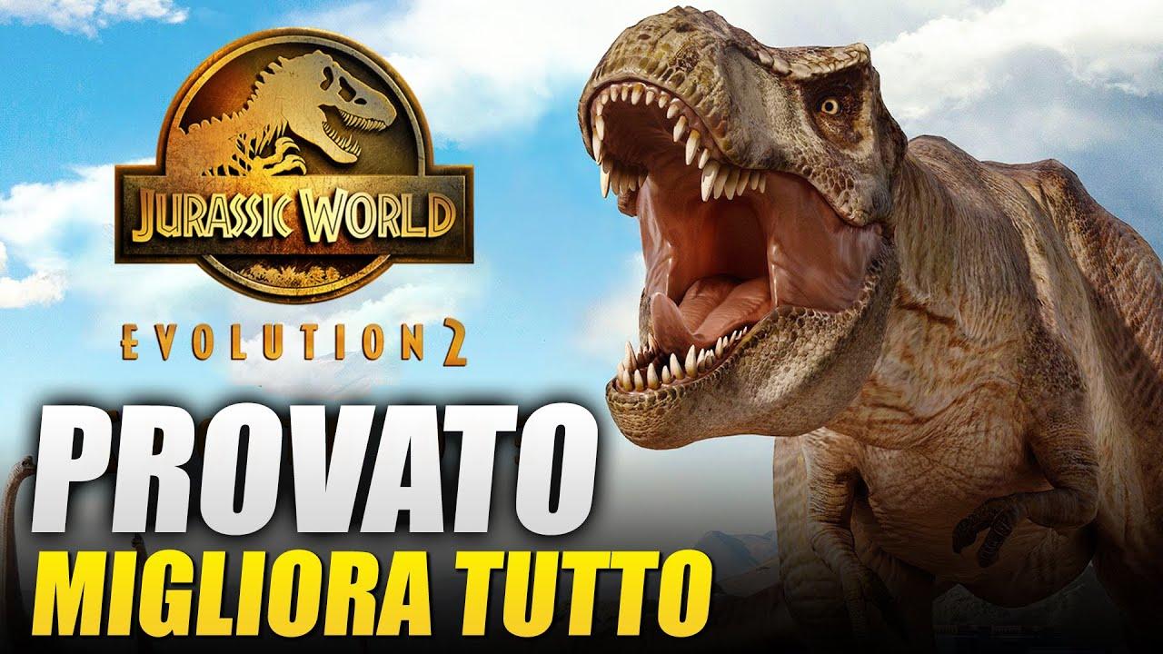 Download Jurassic World Evolution 2: PROVATO il Gameplay