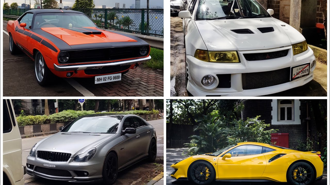 Craziest Supercar Sunday in Mumbai! Sunday Drive in the G55 AMG (new paint job!)