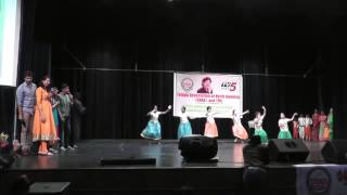 Dallas kids perform Vandanam dance choreographed by Shanti Nuthi. Music Composed by LMA