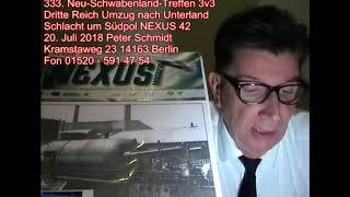 Deutsches Reich Umzug nach Unterland Schlacht um Südpol Nexus 42 333. Neu-Schwabenland-Treffen 3v3