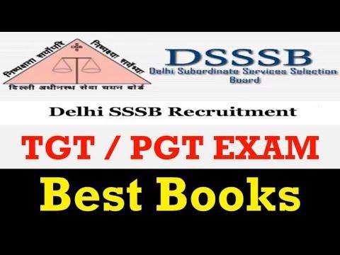 Best Books For DSSSB TGT/PGT Exam 2018