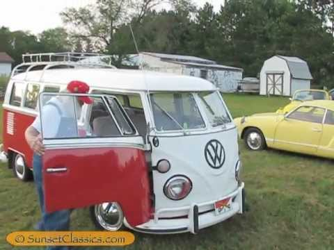 1966 volkswagen bus classic 66 vw samba youtube. Black Bedroom Furniture Sets. Home Design Ideas