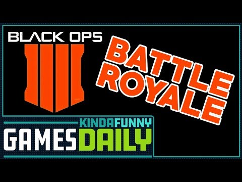 Call of Duty Battle Royale Is Coming - Kinda Funny Games Daily 05.16.18